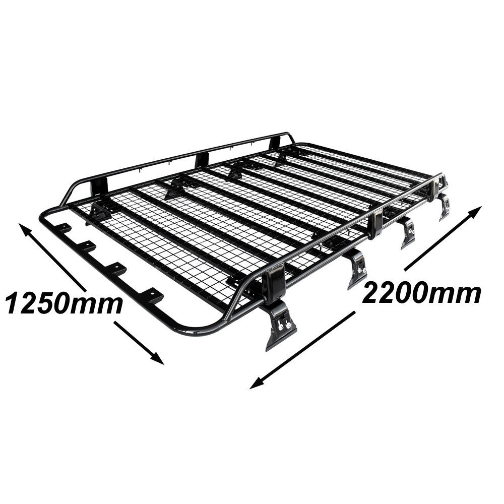 tradesman premium steel roof rack suits nissan patrol gu