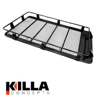 Full Length Roof Rack suits Nissan Patrol GU GQ MQ 2200mm x 1250mm Gutter Mount