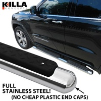 Jeep Grand Cherokee WK 2010-2015 Stainless Steel Side Step Rails Running Board