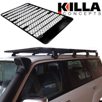 Alloy Roof Rack Nissan Patrol GU GQ MQ 2200 x 1250 Flat inc 8 Mount Brackets