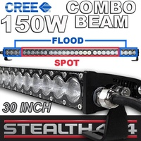 STEALTH 30 Inch 150W Slim Line Light Bar 30 x 5W CREE Combo LED 4x4 4WD Work