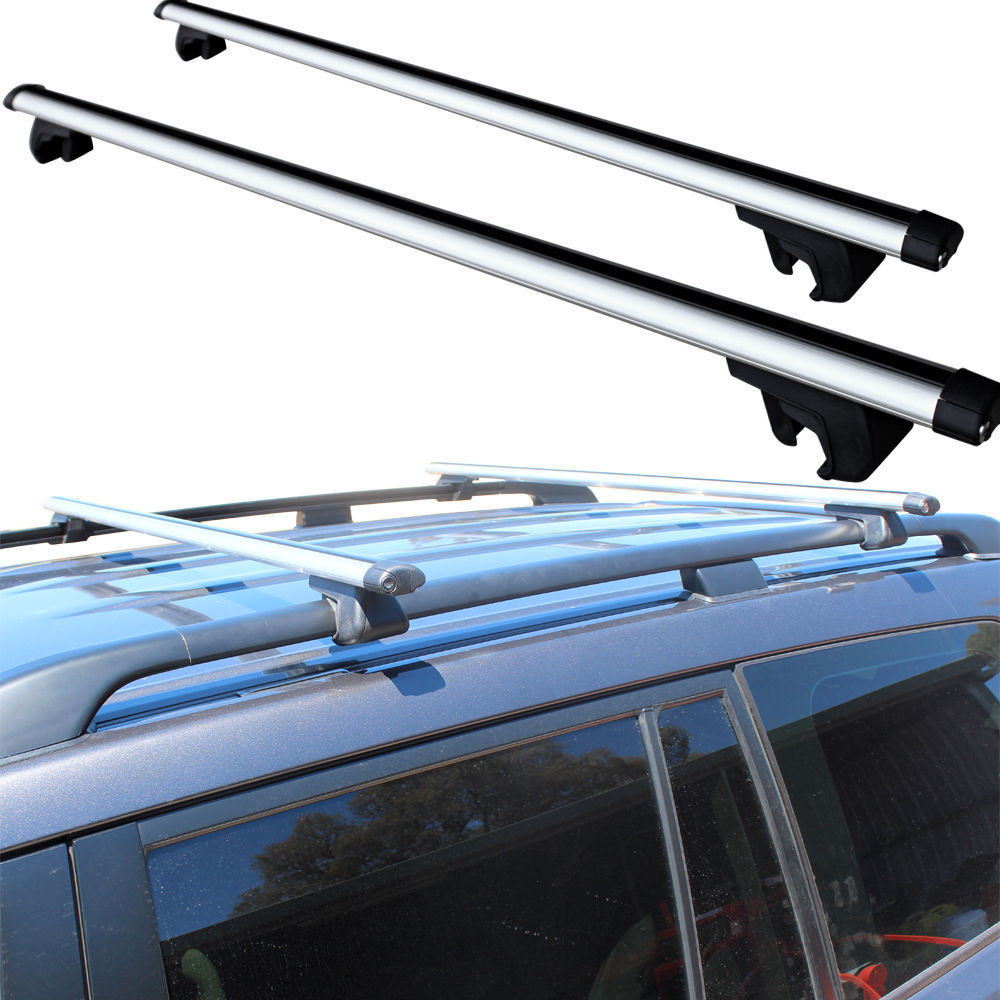 Killa Universal Cross Bar Roof Rack Pair Suits Most