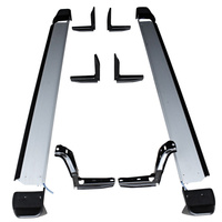 Landcruiser 100 Side Step Running Board Pair 1800mm Aluminium w Steel Brackets