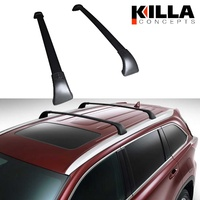 Toyota Kluger 2014+ GXL Grande Roof Cross Bar Set Aero Style Luggage Rack