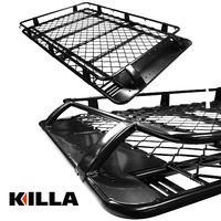 Aluminium Roof Rack Toyota LandCruiser 200 Series 2007-2017 2100mm Full Basket