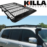 Low Profile Aluminium Roof Rack Toyota LandCruiser 200 Series 2007-21  2100mm