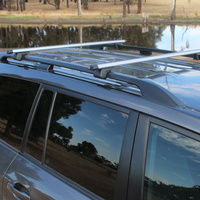 Toyota LandCruiser Prado 120 Series Roof Rack Rail and Cross Bars Set 2002-2009