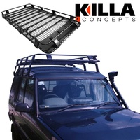 Roof Rack Land Rover Discovery Series I & II 2200mm x 1350mm NEW Gutter Mount