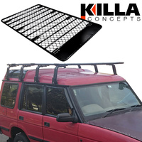 Alloy Roof Rack Land Rover Discovery Series I & II Low Profile 2200mm